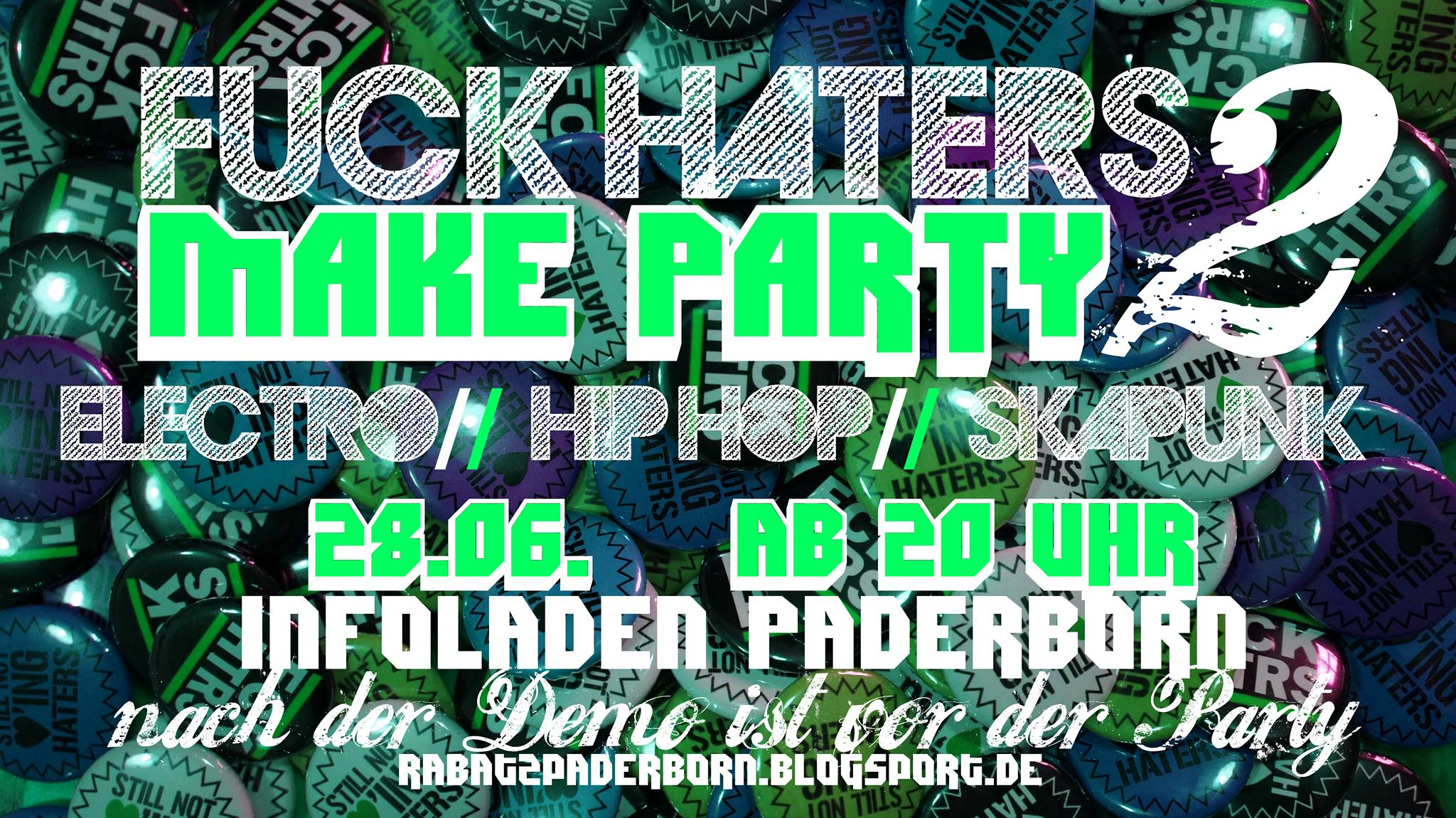 Fuck Haters Make Party 2